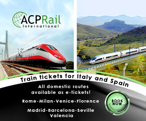 Spain and Italy Train Tickets